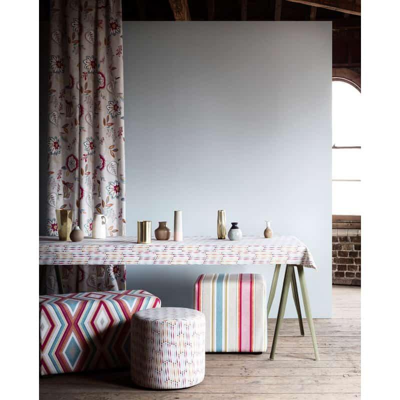 Clarke and Clarke Studio G Octavia Terrazzo in Natural Curtain Fabric